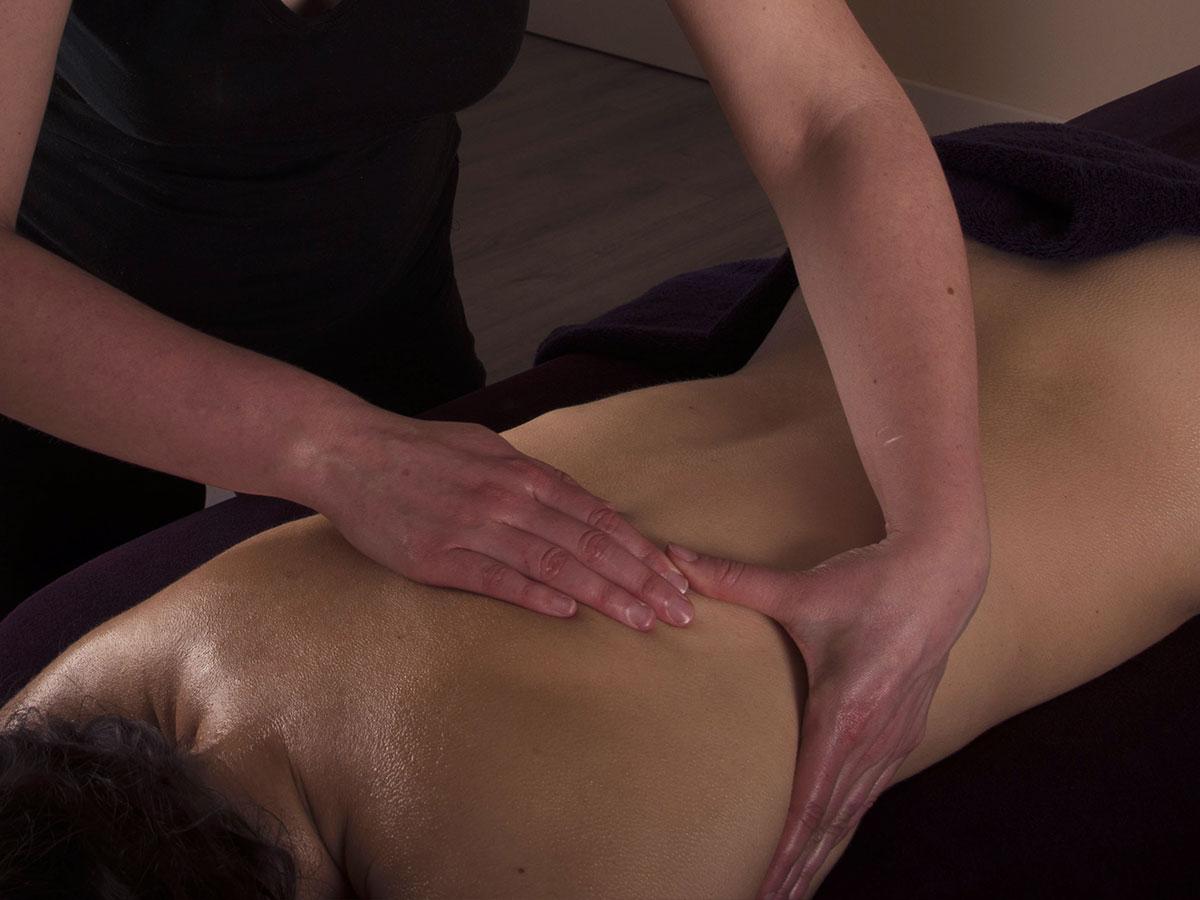 Massage apaisant