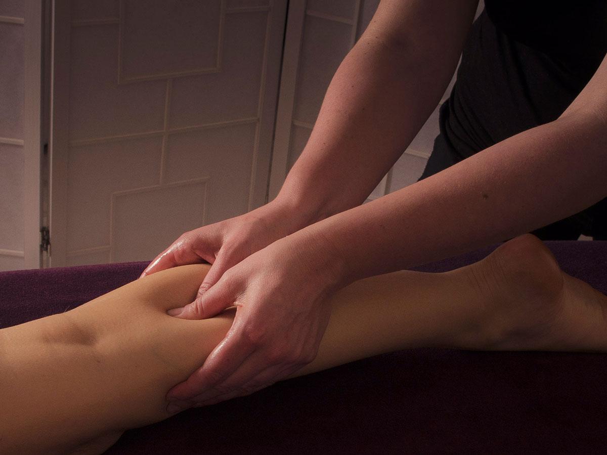 Massage de mollet